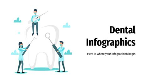 Dental infographics | Template for Google Slides & PowerPoint