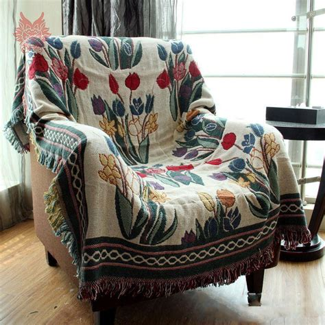 Sofa Cover Blanket 100 Cotton Extra Thick Sofa Cover Throw