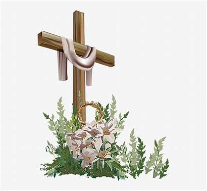 Easter Cross Clip Christian Clipart Religious Cliparts