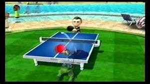 Wii Sports Resort Table Tennis vs. Rainer @ Level 2500 [ 11-0 ] - YouTube  Table Tennis Sports