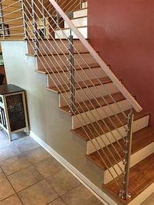 stainless steel handrail cross bar railings for interior