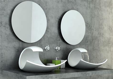 designer bathroom sink what a wave yanko design