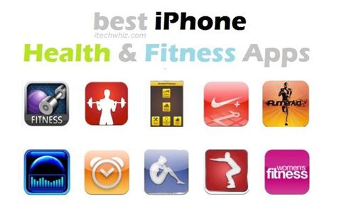 top best iphone health and fitness apps healthy