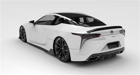 Lexus LC F Rendering Automobile Magazine