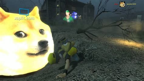 [gmod] Run From Sanic Doge John Cena And Cripper