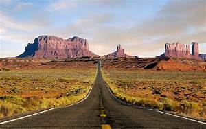 Nature, Landscape, Desert, Road, Highway, Monument, Valley, Wallpapers, Hd, Desktop, And, Mobile