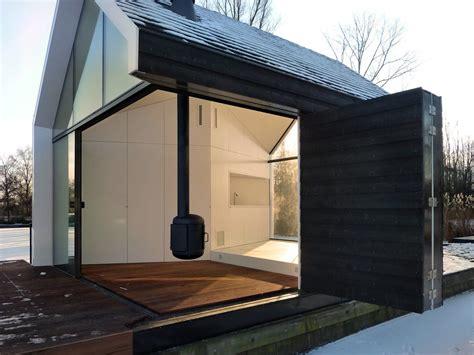 Charmant Architekt Wohnzimmer Kamin Im Gartenhaus Garten Haus Architektur Und