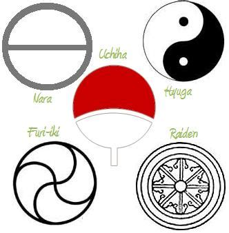 Cool Yin Yang Pictures 5 Noble Clan Symbols By Serenevy On Deviantart