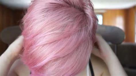 Dyeing My Hair Pastel Pink (ion Rose)