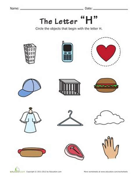 words that begin with the letter h things that start with h free printables pictures of 26498