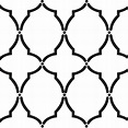 6 Light Turquoise Dotted Moroccan Tile - Free Printable Di ...