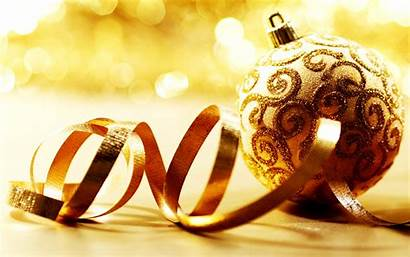 Christmas Ornaments Decoration Gold Wallpapers Backgrounds Decorations