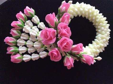 พวงมาลัยดอกข่ากุหลาบจากดินไทยประดิษฐ์ | หัตถกรรม-ดอกไม้ ...