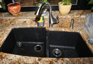 Black Kitchen Sink Menards by How Should I Choose A Kitchen Sink Arch City Granite Amp Marble