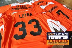 blog igor39s t shirts and more With iron on letters and numbers for jerseys