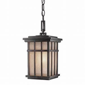 Hanging outdoor pendant destination lighting