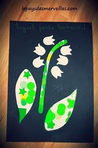 Activite Enfant 1 An : bricolage 1er mai le muguet gommettes et collage le ~ Melissatoandfro.com Idées de Décoration