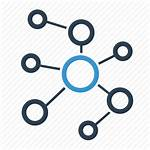 Icon Network Connection Cloud Community Social Icons