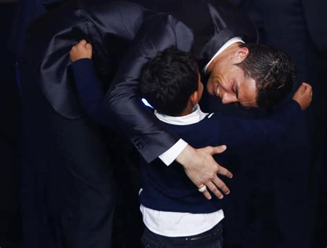 Cr7 Real Name Cristiano Ronaldo Real Madrid Star S Child Can T Say Own