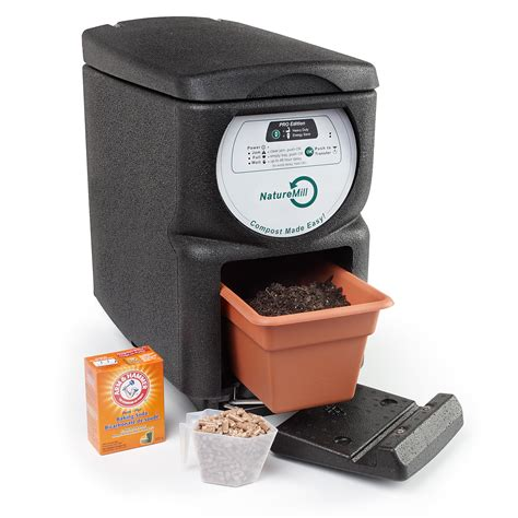 compost de cuisine automatic composter naturemill electric indoor