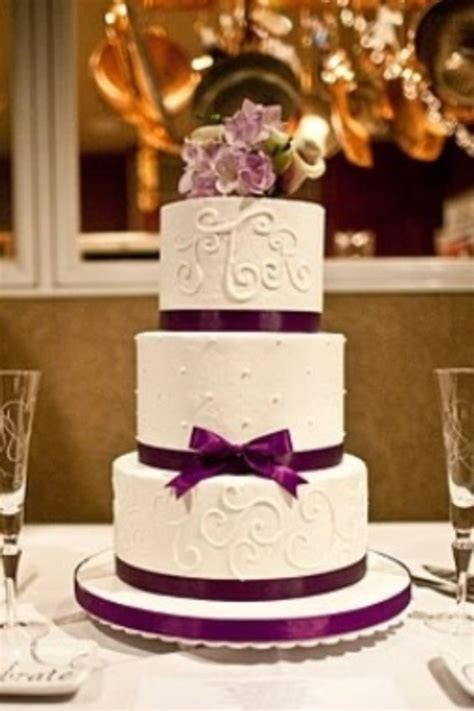purple wedding cake elegant keywords weddings jevelweddingplanning follow  www