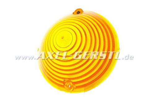 blinkleuchtenglas gelb fiat