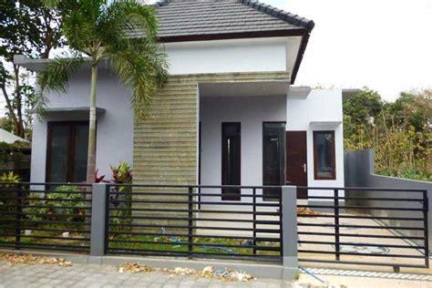 pagar indah  kokoh  rumah minimalis bos properti