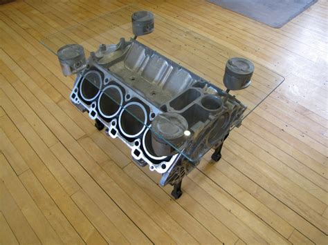 928 Engine Coffee Table   928 Furniture from 928 Motorsports LLC®
