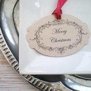 Handmade christmas t tags
