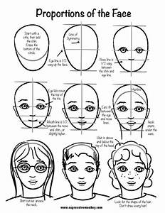 Step-by-step Tutorial for drawing a face | Menlo Park's ...
