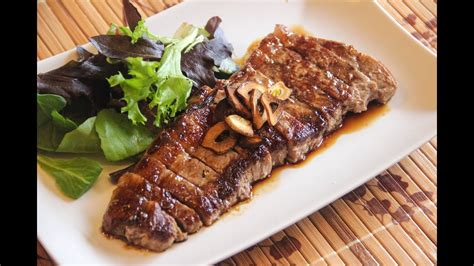 japanese beef steak recipe japanese cooking  youtube