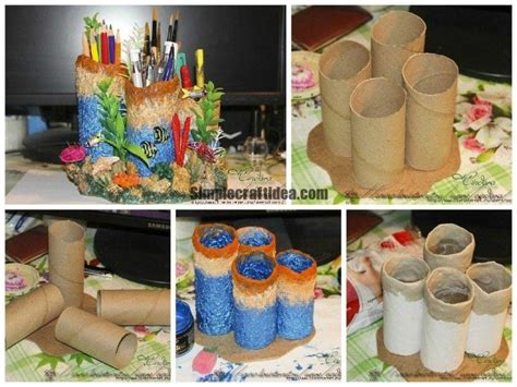 makecoral reef  stand simple craft ideas