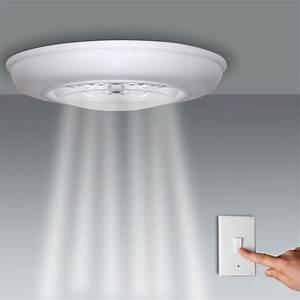 éclairage Extérieur Sans Fil : applique de plafond clairage 18 led avec interrupteur ~ Dailycaller-alerts.com Idées de Décoration