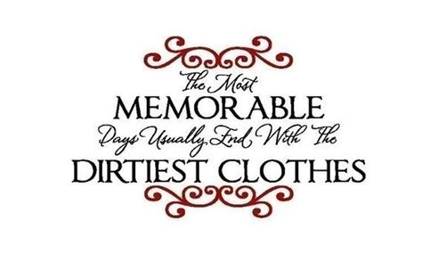 laundry decal   memorable days