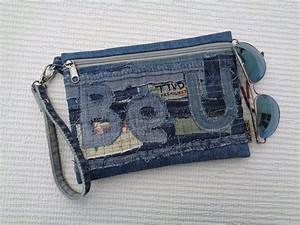 Clutch wristlet make up cosmetic zipper bag pouch case ...