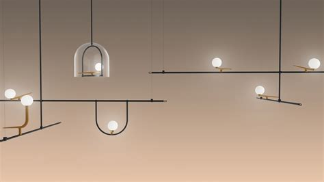 yanzi l collection by neri hu for artemide urdesignmag