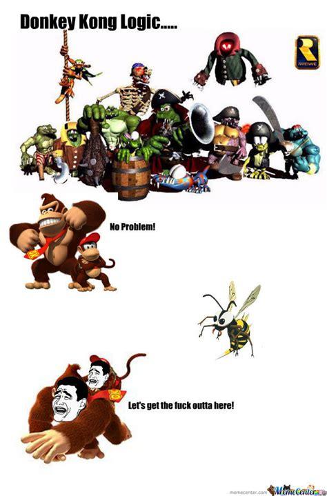 Donkey Kong Memes - donkey kong logic donkey kong know your meme
