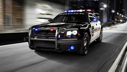 Police Wallpapers Dodge Charger Vehicle Cave