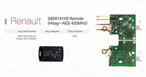 Vvdi Key Tool Unlock Renault Remotes  Smart Key