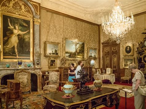 painting a mobile home interior the morning room in waddesdon manor buckinghamshire flickr