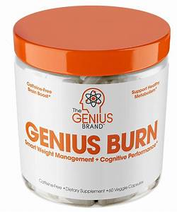 Genius Fat Burner - Thermogenic Weight Loss  U0026 Nootropic Focus Supplement