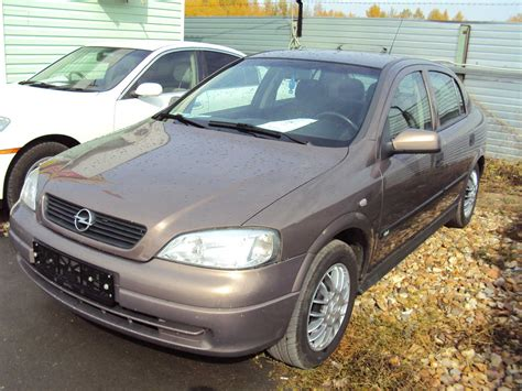 1998 Opel Astra Photos, 1.4, Gasoline, Manual For Sale