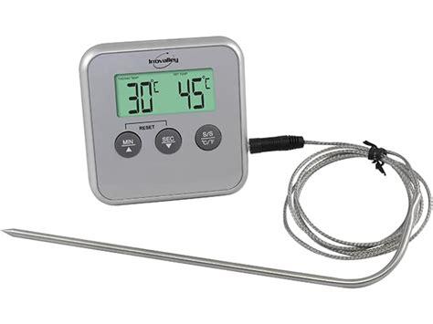 sonde pour cuisine thermomètre de cuisson et de four à sonde amovible 0 c à