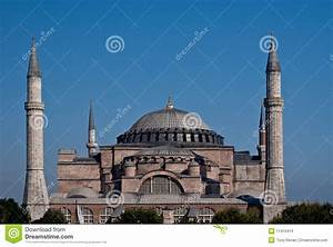 Hagia Sophia Exterior stock photo. Image of blue ...