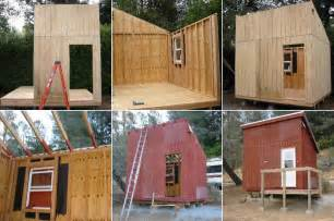 building plans for cabins mini cabin plans tiny house design