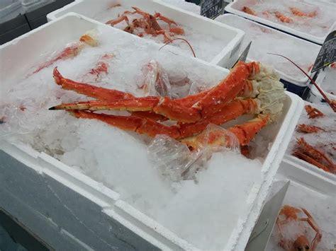 cuisiner homard congelé king crab royal crabe la femme qui marche