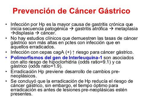 h pylori y cancer de estomago helicobacter pylori y c
