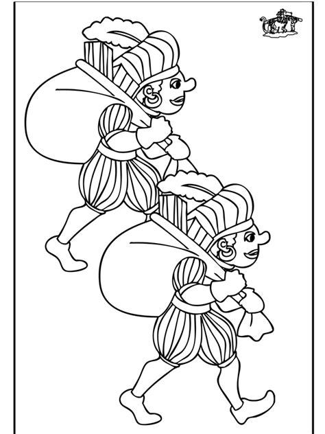 Kleurplaat Piet by Piet Kleurplaat