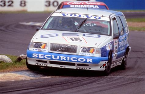 volvo estate racing    btcc  good ol days