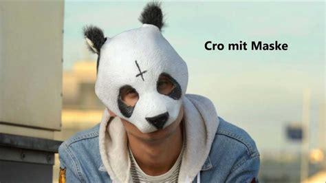 cro ohne maske youtube